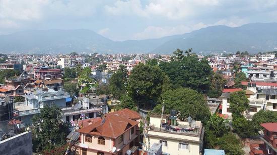 view from my room picture of hotel shambala kathmandu tripadvisor rh tripadvisor com