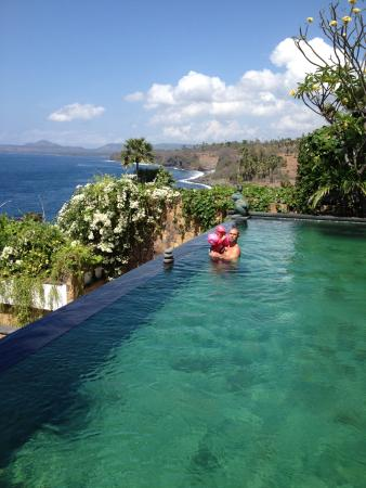 Sea Villa View From Private Pool Picture Of Shunyata Villas Bali Seraya Tripadvisor
