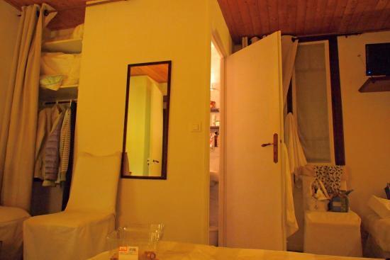Hotel de Paris : Всё в текстиле....