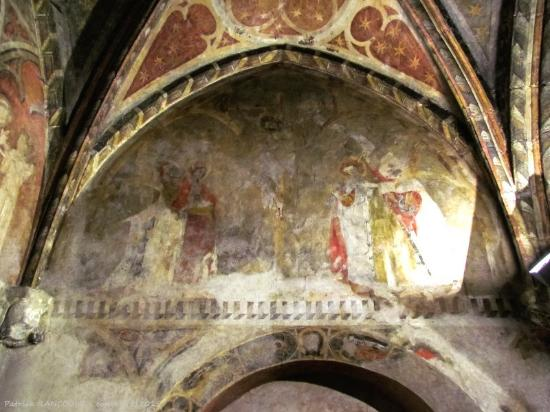 Alet les Bains, Francia: crucifixion du XIVe