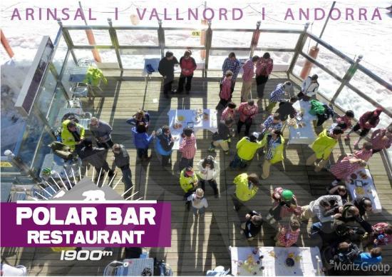 Polar Base Bar Restaurant: Polar Bar Pistes - Arinsal, Vallnord, Andorra