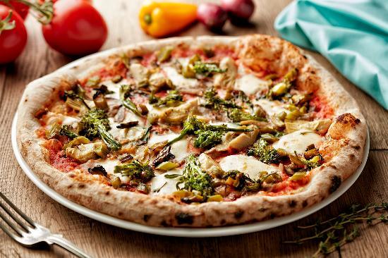 800 Degrees Neapolitan Pizzeria: Gluten free Pizza