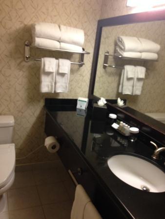 Miyako Hotel Los Angeles: Banheiro