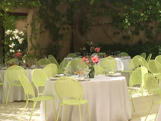 La Romana, İspanya: Terraza Restaurante