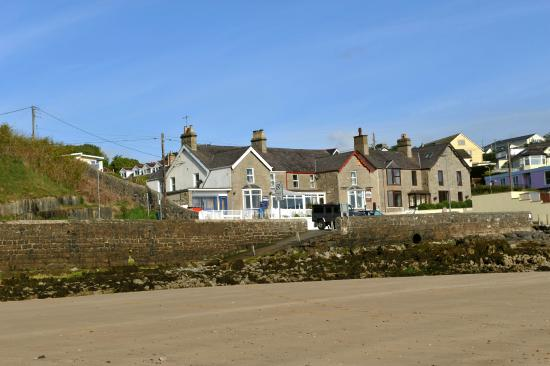 Benllech, UK: Sea View with beach right outside