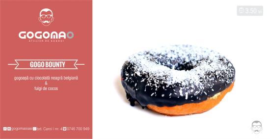 Gogo Bounty Donut Picture Of Gogomao Iasi Tripadvisor
