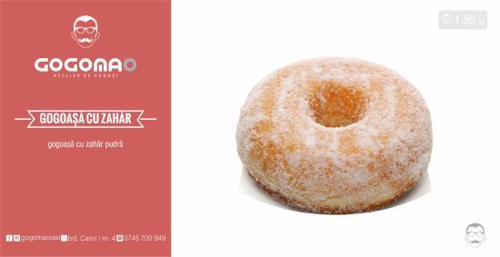 Simple Sugar Glazed Donut Picture Of Gogomao Iasi Tripadvisor