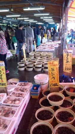 Morita suisan nakaminato honten fish market hitachinaka for Suisan fish market