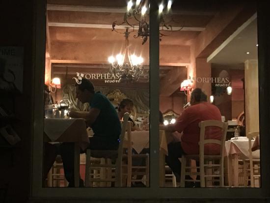 Orpheas Resort: Speisesaal im Orpheas