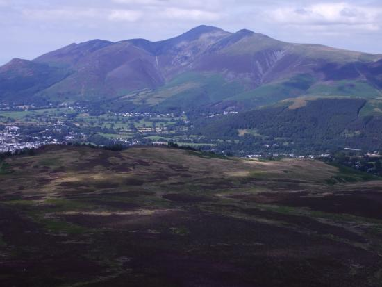 Lake District National Park Guided Walks - Walks to Inspire: Lake District National Park - panoramic view towards Skiddaw and the Northern Fells