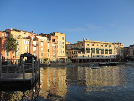 Loews Portofino Bay Hotel At Universal Orlando: Portofino Bay Viewed From  The Boat To Universal