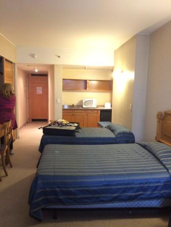 America Plaza Hotel: Mejor cuarto para familia