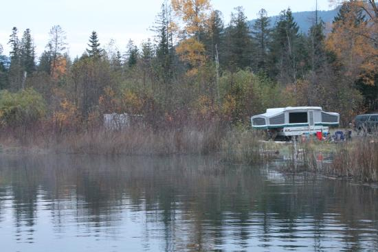 Boston Bar, Canadá: our campsites on the lake