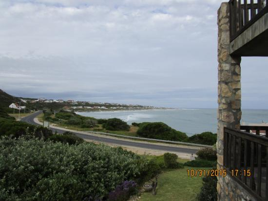 Agulhas Country Lodge: View from the patio of the room
