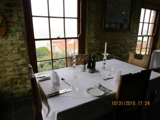 Agulhas Country Lodge: Romantic evening dinner setting
