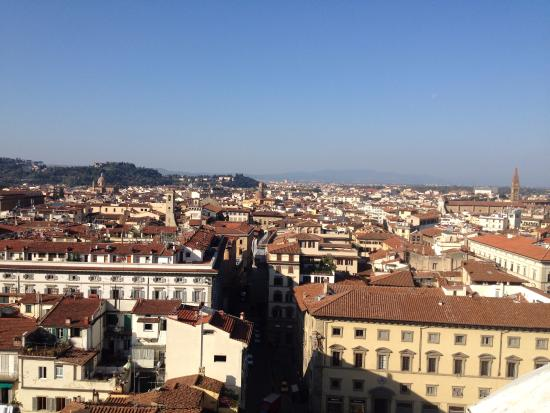 Pierre Hotel Florence: view from the bell tower