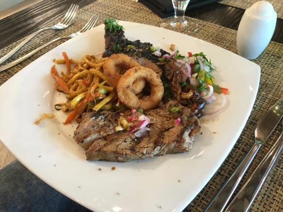 Mixed Grill Plate - Jing Asia - Crowne Plaza - Abu Dhabi