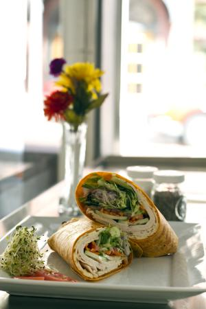 The Deli: Roasted Turkey or Chicken Wrap. So Good !