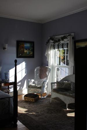 Mariaville, Nova York: One of the rooms with the morning light