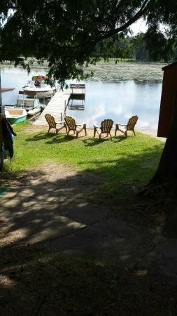 Balsam Bay Resort: Quiet bay of Big Sand Lake