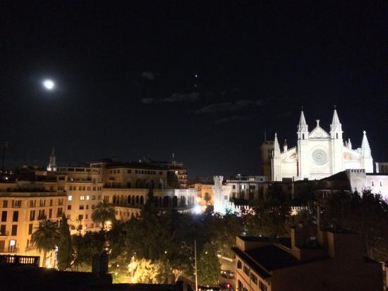 Hostal Apuntadores: La terrasse panoramique