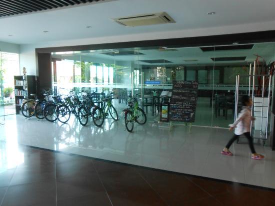 Napalai Resort & Spa: ใช้จักรยานให้ลูกค้าใช้ฟรี