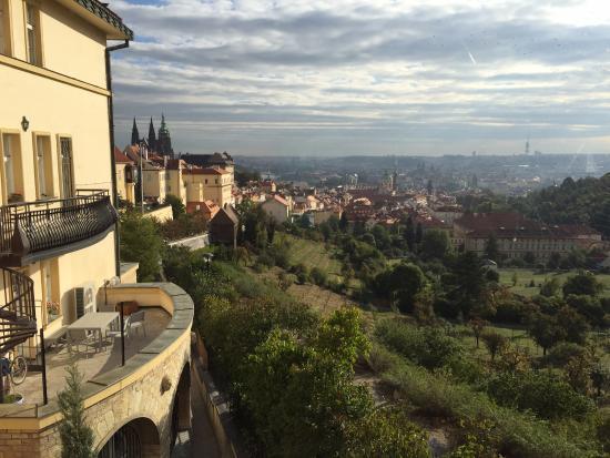 Questenberk: View from breakfast room
