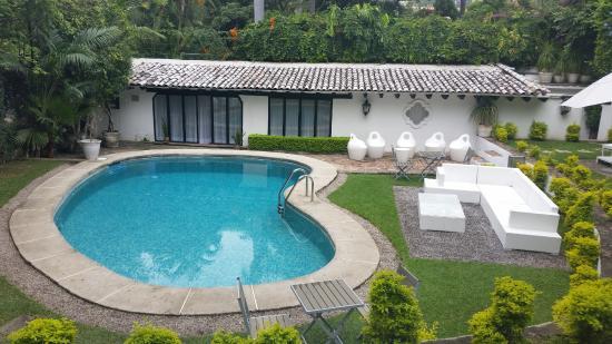 Alberca En Patio Trasero Picture Of Las Casas B B Hotel