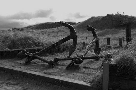 Pembrey, UK: Historic Anchors