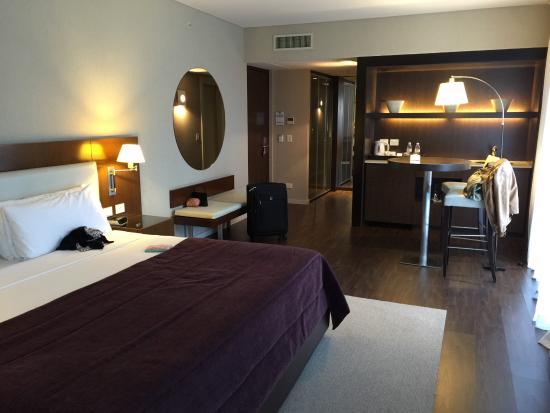 Hotel Madero: Vista hacia la puerta