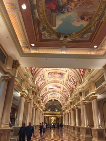 Palazzo main hall and lobby.