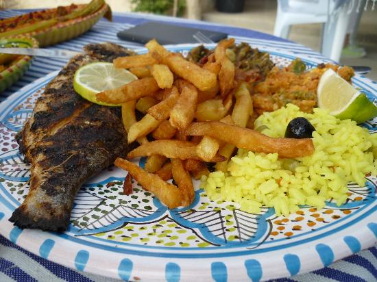 Djerba-Sidi Ali Restaurant: dorade