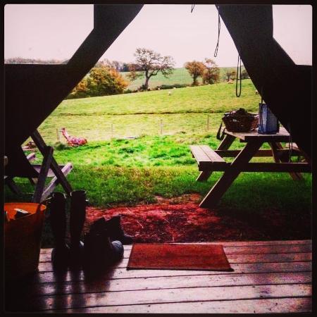 Rodhuish, UK: Country view