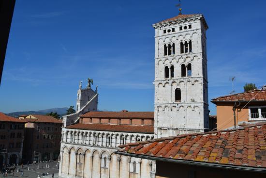 Antica Residenza dell'Angelo : Chiesa S. Michele vista dalla suite