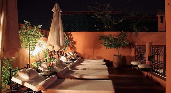 Riad Couleurs Du Sud: Terrasse