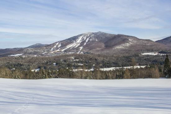 East Burke, VT: Burke Mountain from a distance