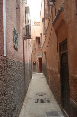 Riad de la Semaine : Ruelle du Riad