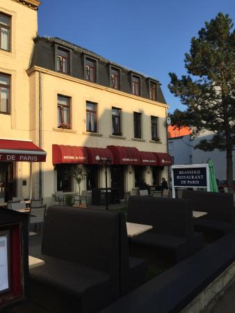 Brasserie de Paris: Vue terrasse