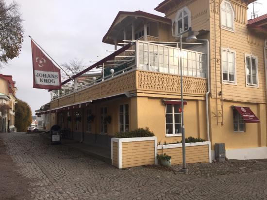 Johan's Krog: Warm and friendly inside