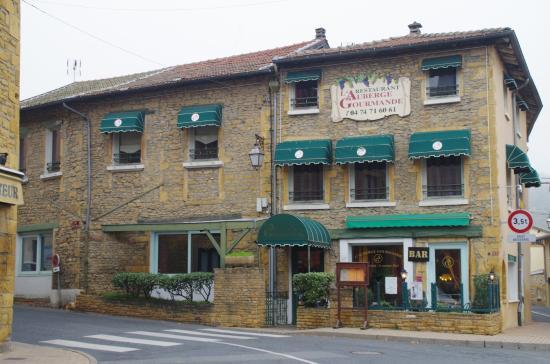 La fa ade picture of l 39 auberge gourmande le bois d for Auberge de la maison tripadvisor