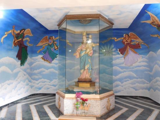 Catedral Metropolitana María Reina: La virgen