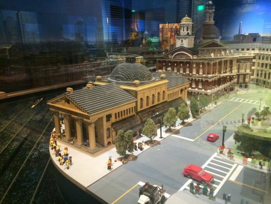 Lego model of Boston - Picture of Legoland Discovery Center ...