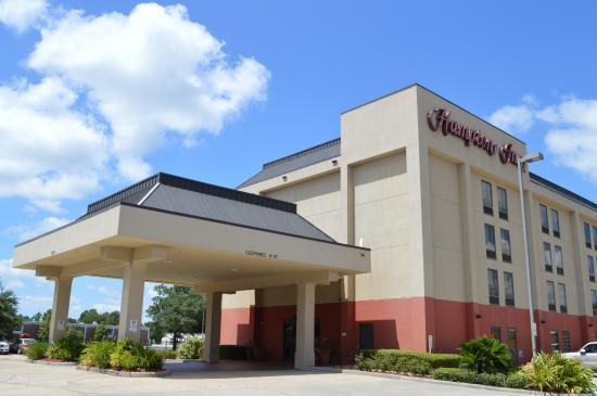 Hampton Inn Houston - I-10W, Energy Cor : Hotel Entrance