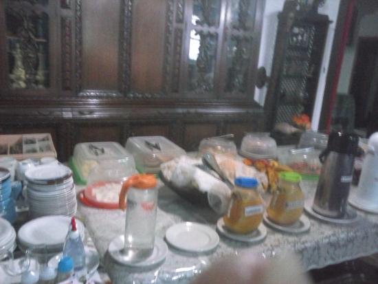 Pousada Capitao: Café da manhã