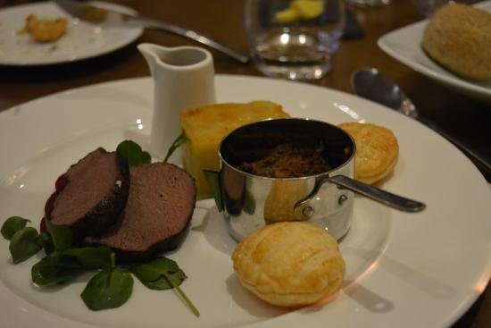 Oakley, UK: Main course