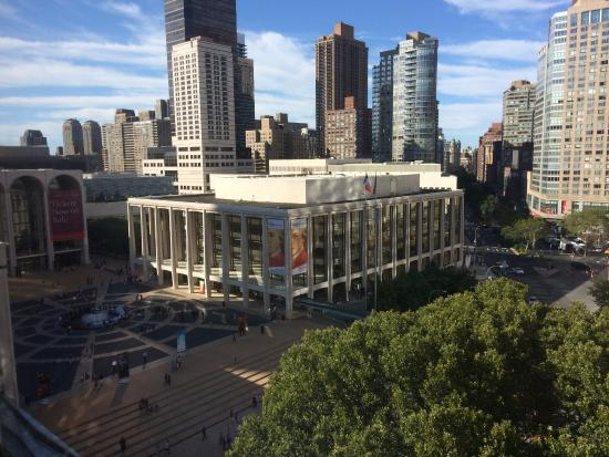 Empire Hotel View Of Lincoln Center From Upper Floor