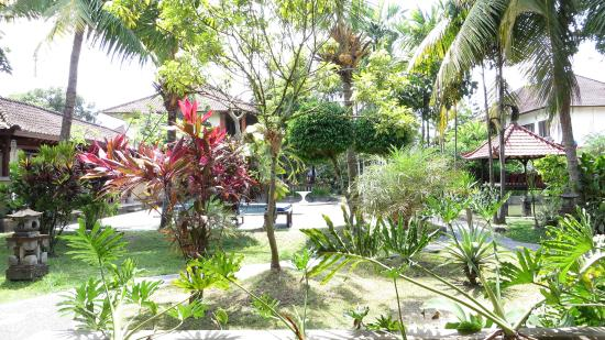 Puri Dalem Cottages: View from the room terrace