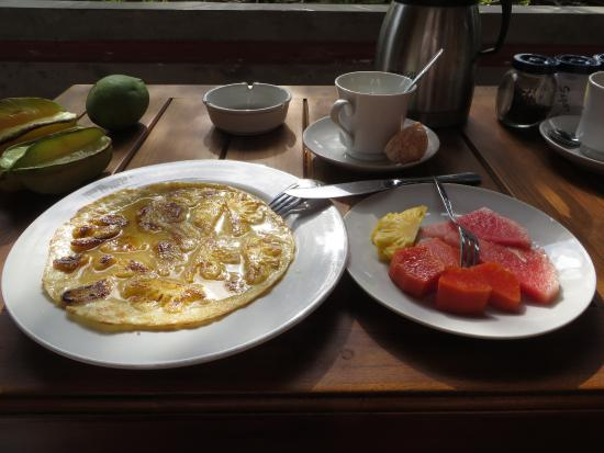 Puri Dalem Cottages: The best pancakes ever