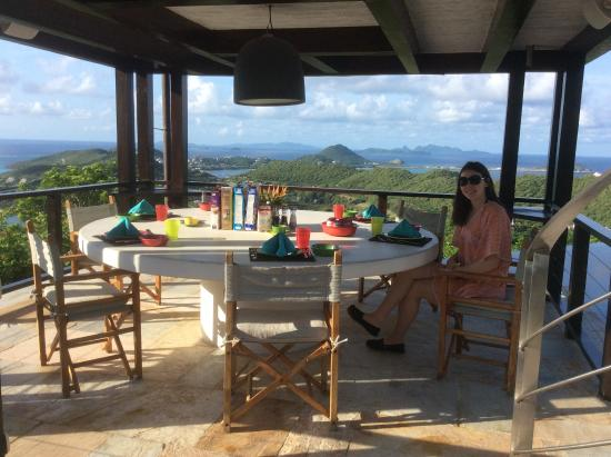 Canouan Estate Villas & Residences: Breakfast with a view