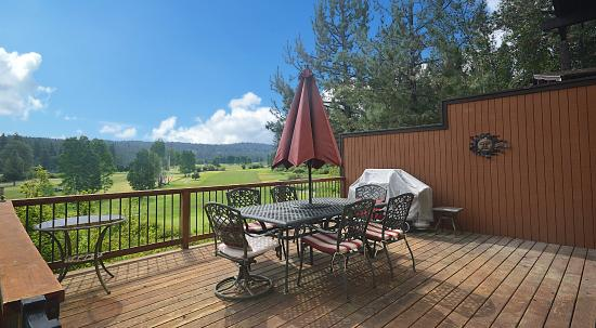 Graeagle Meadows Vacation Rentals & Real Estate : Gorgeous Golf View from Vacation Home